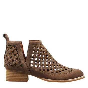 VONEUF Jeffrey Campbell Taggart Women's - Taupe Suede