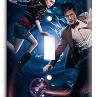 Doctor Who Dr Who G3 10 Light Switch Cover
