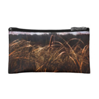 Cat Tails in The Wind Makeup Bag