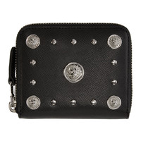 Black Lion Medallion Wallet