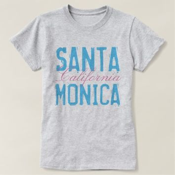 Santa Monica California T-Shirt