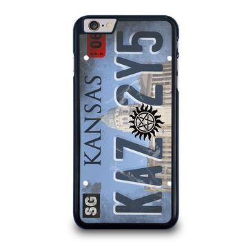 SUPERNATURAL LICENSE PLATE CUSTOM iPhone 6 / 6S Plus Case