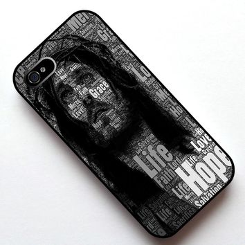 Jesus Christ Motivational Inspirational Case Cover, Case  for Apple Iphone 4 4s 5 5s 5c 6 6s 6plus 6s plus