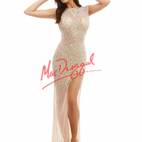 Mac Duggal Sequin Prom Dress 4053A