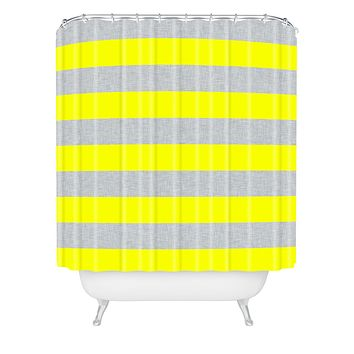 Holli Zollinger Bright Stripe Shower Curtain