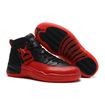 Air Jordan 12 Retro XII AJ12 Red/Black Basketball Shoes Size US5.5-13