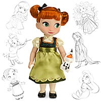 Disney Animators' Collection Anna Doll - 16'' - Frozen