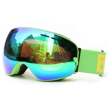 New Arrival Ski Goggles for Men Women Winter Snowboard Goggles Windproof Anti-Fog Ski Glasses Outdoor Skiing Eyewear Snow Goggle
