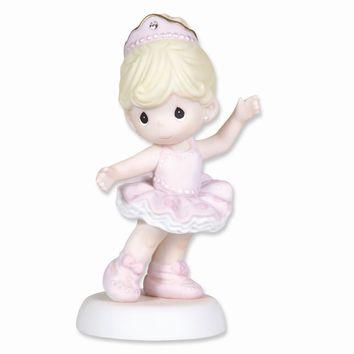 Precious Moments Ballet Dancer Porcelain Figurine