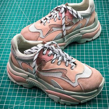 2018 ASH ADDICT Fashion Pink Sneakers - Best Online Sale
