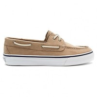 Men's Washable Bahama 2-Eye Boat Shoe in Tan by Sperry Top-Sider