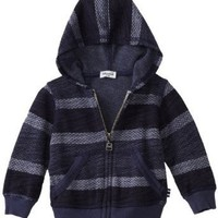 Splendid Littles Baby Boys' Baja French Terry Hooded Zip Up Sweater
