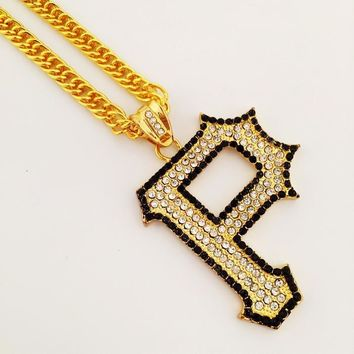 Shiny New Arrival Stylish Jewelry Gift Hip-hop Club Necklace [8439430787]