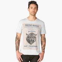 'Vintage French poster' Men's Premium T-Shirt by hypnotzd