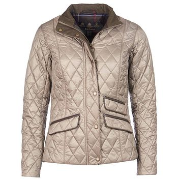 Augustus Quilted Jacket in Taupe by Barbour