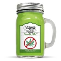 12oz Cannabis Killer (Removes Weed Smell) Scented Beamer Candle Co. Ultra Pre...
