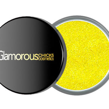 Diamond Glitter Lemon Yellow