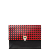 Proenza Schouler Large Lunch Bag - Red Clutch - ShopBAZAAR