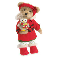 Boyds by Enesco  14in Bear Holiday Good Friends NWT 4041835