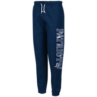 New England Patriots Women's Sport Princess III Sweatpants - Navy Blue