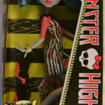 Mattel Monster High Ghoulia Yelps Skultimate Roller Maze Daughter Zombies Doll