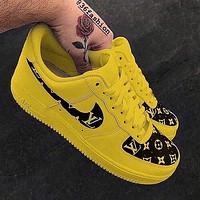 LV Nike Air Force 1 Low-end casual sneakers