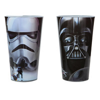 Star Wars Darth Vader and Stormtrooper Pint Glasses Set