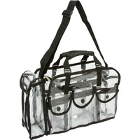 Seya Large Transparent Carry All Makeup Set Bag | Overstock.com