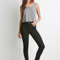 Clean Wash High-Rise Skinny Jeans