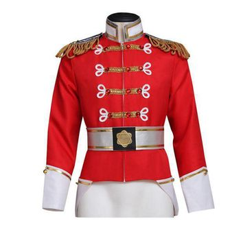 Barbie In The Nutcracker King Eric Jacket Costume Adult Men's Coat Cosplay Custom Made - Beauty Ticks