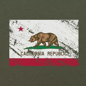Vintage California Republic Flag Distressed T-Shirt