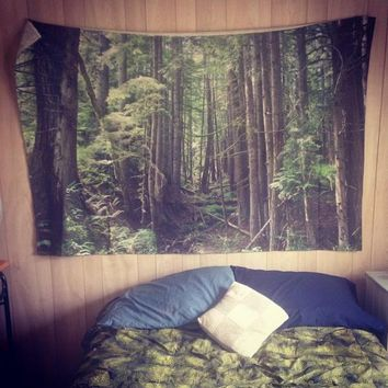 Laura Kicey Forest Tapestry - Urban Outfitters