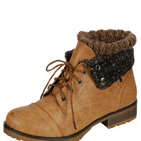 The Wanderlust Boots (Tan)