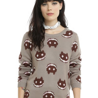 Cartoon Network Steven Universe Cookie Cat Girls Sweater
