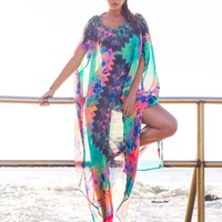 Robb and Lulu New Beginnings Oversized Luxe Kaftan