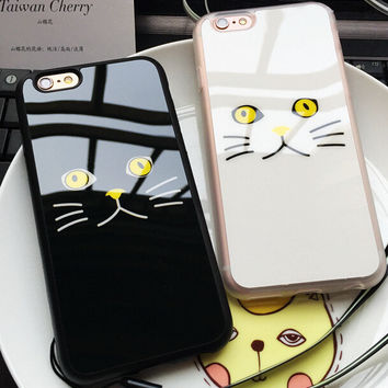 Unique Cat Case for iPhone 7 5s 5se 6 6s Plus Gift + Free Shipping + Gift Box 320