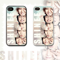 SHINEE iPhone 4s / iPhone 5 case / hard or rubber / k-pop / korean music