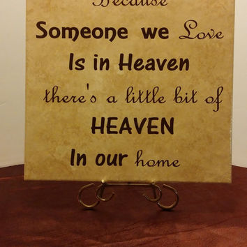 Personalized Tile, Memorial Tile,