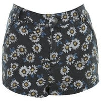 High Waist Daisy Denim Short - Shorts and Skirts  - Sale & Offers