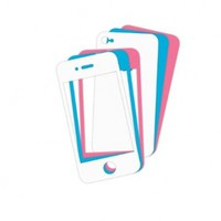iSound Premium Custom Colors Screen Protector Decals for iPhone 4/4s