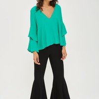 Double Sleeve Layer Top | Topshop