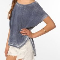 Mouchette Short Sleeve Shirttail Tee