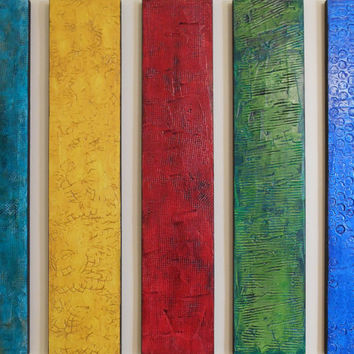Wood Wall Sculpture - Textured Paintings - Custom Large Modern Wall Art - Unique Abstract Paintings - Large Modern Art  -  Acrylic Paintings