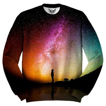 Reflection Rainbow Nebula Galaxy Sweater