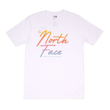 Men's Tri-Blend Tee in TNF White by The North Face