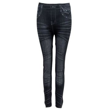 DCCKH6B Women Denim Jeans Sexy Skinny Leggings Jeggings Stretch Pants Trousers - 9type