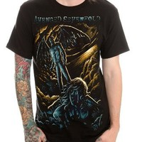 Avenged Sevenfold Horror Slim-Fit T-Shirt 2XL Size : XX-Large