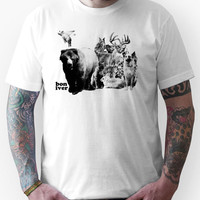 bon iver animals Unisex T-Shirt