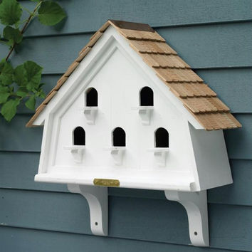 Bird House - 2 Decorative Brackets