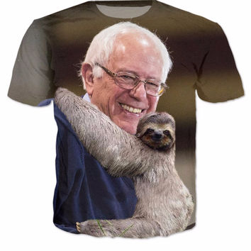 Save the Sloths Bernie T-Shirt